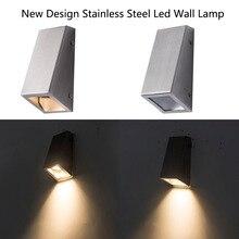 New design Led Wall Light Outdoor Lamp fixture with GU10 spotlight led Porch Lights lamparas de pared exterior