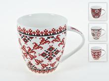 Кружка Best Home Porcelain, Вышивка, 475 мл
