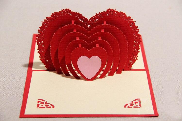 latest deisgn romant 3d postcard greeting card wedding marriage, Ideas