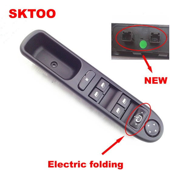 sktoo window control switch for 2007 2015 peugeot switch. Black Bedroom Furniture Sets. Home Design Ideas