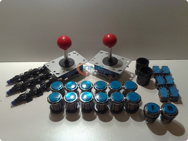 Aliexpress.com : Buy Arcade parts Bundle kits control panel ...