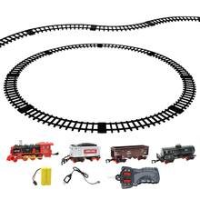 1 Set Train Model Toy Electric Portative Funny Utility Train Pathway for Playing Gift(China)
