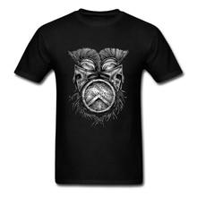 Spartan Helmets And Shield T Shirt Custom Short Sleeve Hip Hop Funko Pop Cotton Crewneck Big Size T Shirts Fitness Men