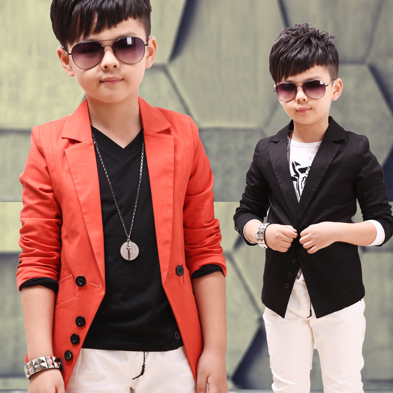 dfd12b0740 US $23.3  Children's clothing boys blazer fashion long child suit fashion  formal dress outerwear-in Blazers from Mother & Kids on Aliexpress.com   ...