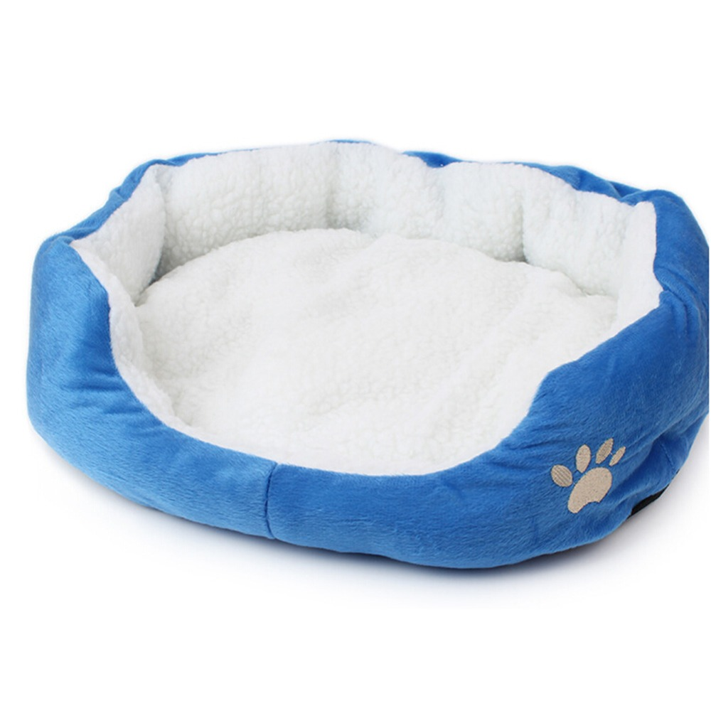 Soft Cat Bed Mat Winter House for Cat Warm Cotton Dog Pet Mat Products Mini Puppy Pet Dog Bed Soft Comfortable 50x40 60x50cm in Cat Beds Mats from Home Garden