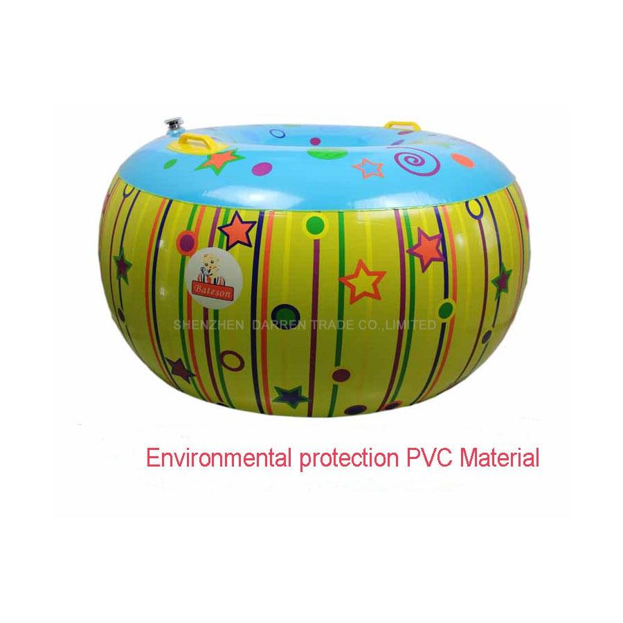 Nifty Inflatable Body Bopper Set Sensory inflatable bucket toy outdoor child bucket bumper ball Air Bumper Ball sensory deception