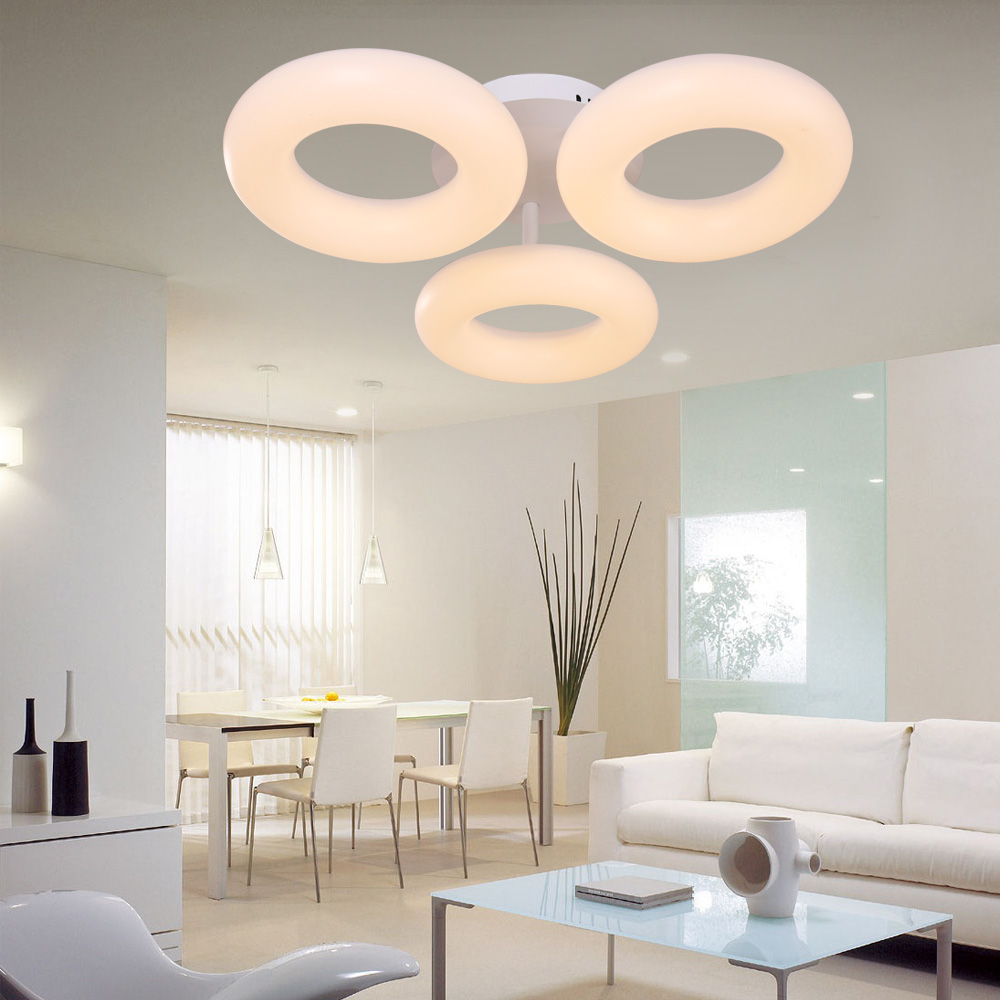 Holigoo Superficie Montada Moderna Llevó Las Luces de Techo De ...