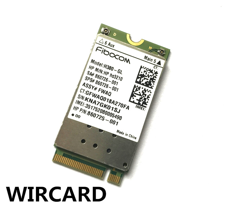 Hs3210 HSPA+ Mobile Broadband Module 645 G3 840 G4 650 G3 EliteBook 745 G4 3G Module