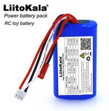 Liitokala novo 7.4 v 18650 bateria de lítio 1500 mah 8.4 v recarregável li lon bateria baterias + frete grátis