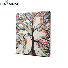цена на XIN-MUM For Amazon Kindle Oasis 2017 7.0 E-reader E-book Print Smart Wake Up Sleep Tablet Case Flip Leather Magnetic Cover