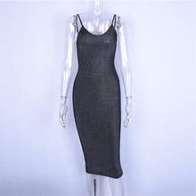 spaghetti straps slash neck backless sexy long  high waist bodycon elegant fashion party dresses