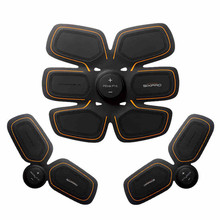 3 PCS/set Brand New C Luo Sixpad Smart Man Body Muscle Fitness Abdomen Exercise Arm&Thigh Lost Weight Equipment Body Toning