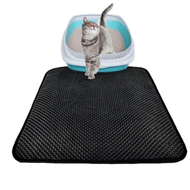 631f0fb67 Aliexpress.com : Buy Double Layer Honeycomb Cat Litter Mats Trapper Mat Non  toxic EVA Mat with Waterproof Bottom Layer Cat Litter Mats from Reliable Mat  ...