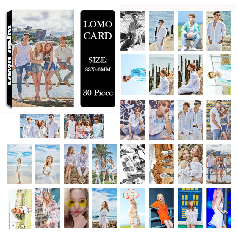 Youpop KPOP KARD K.A.R.D Album LOMO Cards K-POP New Fashion Self Made Paper Photo Card HD Photocard LK510 ...