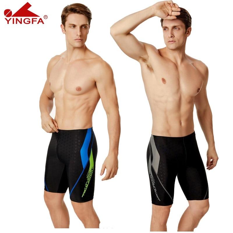 Yingfa Men's Swim Trunks Boy Racing Swimwear 2020 Swimming Trunk Swim  Training Swim Contest Special Clothing Shark Skin|Body Suits| - AliExpress