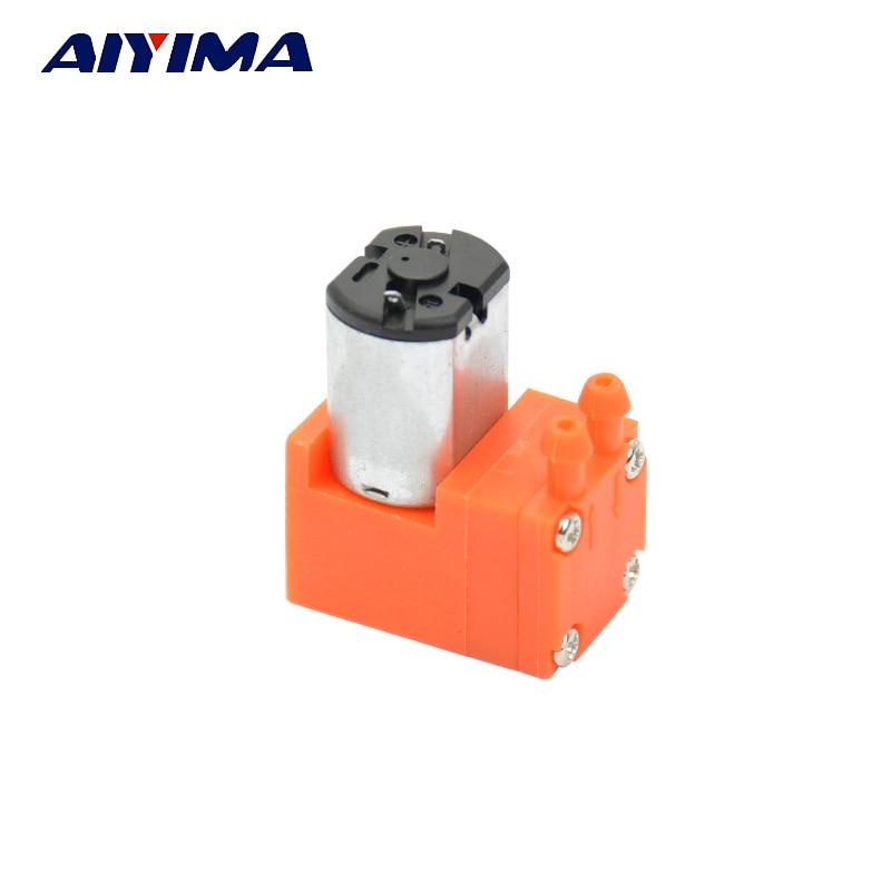 AIYIMA DC3-6V Micro Vacuum Diaphragm Pump 0.5L/min 0.6W For Laboratory Electronics Industry Teaching Equipment