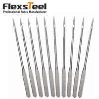 Flexsteel 10 Stücke Universal Regelmäßige Punkt Nähmaschinennadeln Größe #9, 11, 14, 16 für Gewebe Nähen Tools & Zubehör