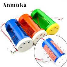 Anmuka Brand 1pcs Fishing Hook Set 7#8#9#10# Explosion Fishhook Freshwater Carbon Bait Holder Fishing Hooks Set 31026