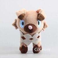 Мультяшная фигурка Rockruff мягкие животные милые Rockruff плюшевые игрушки 16 см детский подарок