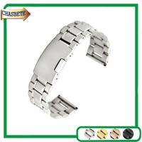 Stainless Steel Watch Band For Ulysse Nardin 16 18 20 22mm Men Women Metal Strap Belt