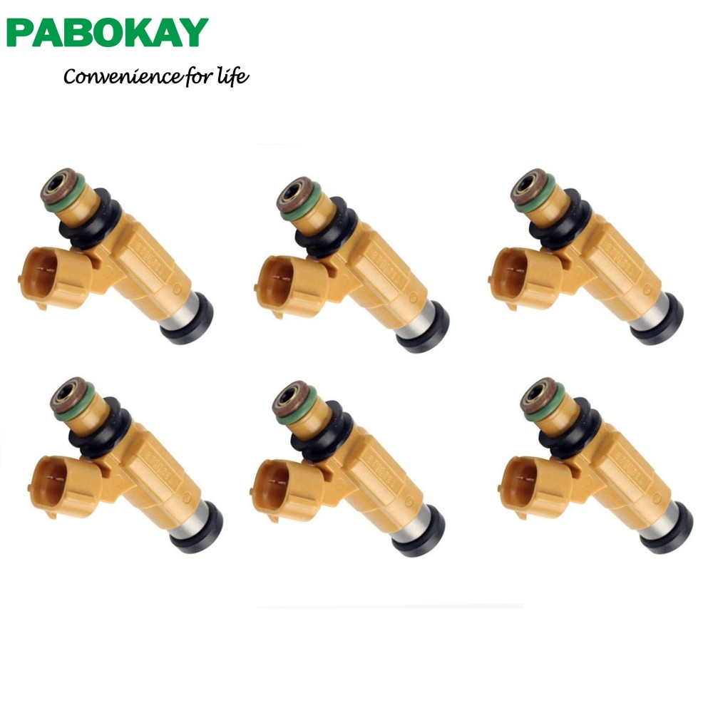 Set of 6 New Fuel Injectors fits for Eclipse Galant Montero MD319792 CDH275