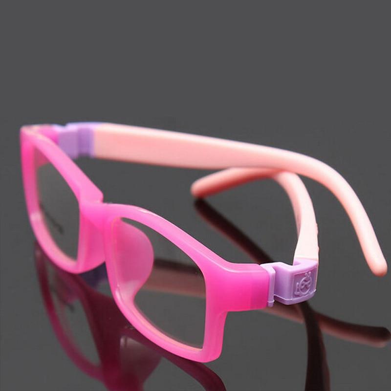 2018 TR90 Children Optical Glasses Frame Girls Boys Eyewear Eyeglasses Sports Style Kids Glasses Frames Safe Material Silicone