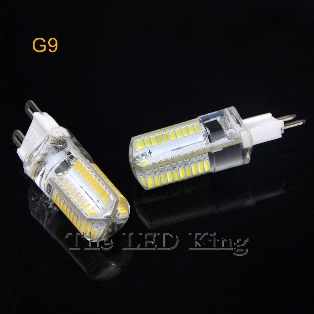 1 x g9 g4 e14 e11 e17 led crystal lamp ac 110v 220v 7w 9w
