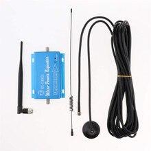 Портативный усилитель сигнала сотового телефона, ретранслятор 900 МГц для дома и офиса, Поддержка 2G 3G 4G, синий