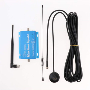 Image 1 - Protable Cell Phone Signal Booster Amplifier Repeater 900MHz for Home and Office GSM902 Support 2G 3G 4G Call Blue