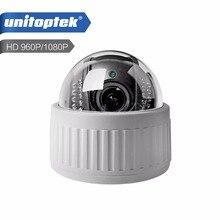 Беспроводной Скорость Поворотная IP Камера Wi-Fi HD 1080 P 960 P 4X зум 2.8-12 мм Крытый авто аудио фокуса SD карты ночь onvif Wi-Fi