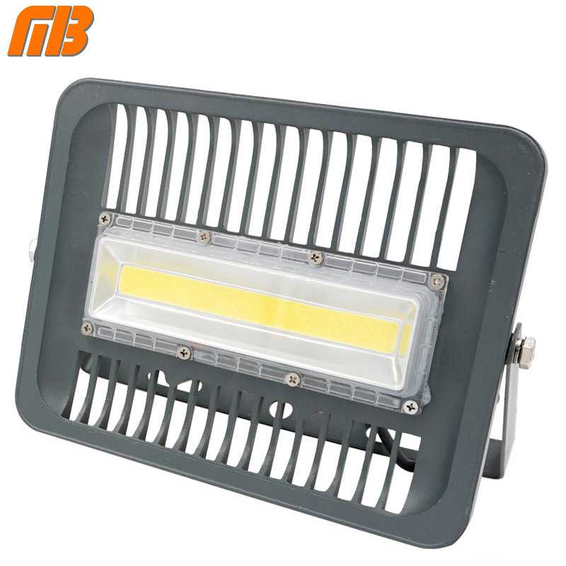 [MingBen] LED Flood Light Projector IP66 WaterProof 30W 50W 70W 100W 220V 230V 110V LED FloodLight Spotlight Outdoor Wall Lamp ultrathin led flood light 100w 70w white ac85 265v waterproof ip66 floodlight spotlight outdoor lighting projector freeshipping