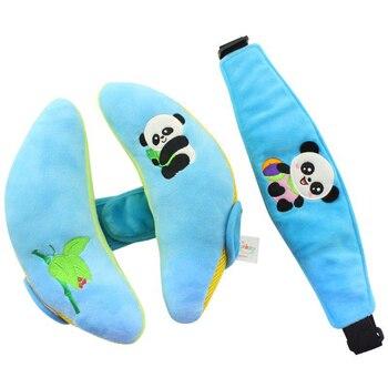 Мягкий детский игрушечный подголовник для малышей, подушка для защиты головы ребенка, детское автомобильное безопасное сиденье, подушка дл...