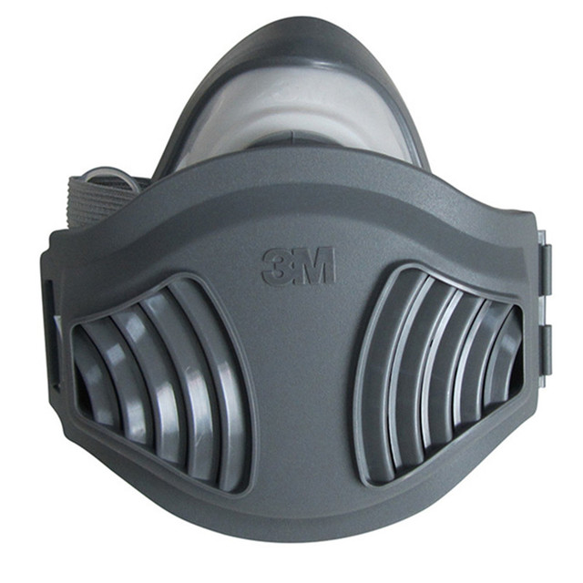 3M 1211 Dust Mask Respirator Anti-dust Anti Industrial Construction Pollen Haze Poison Gas Family & Professional Site Protection