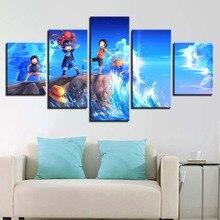Luffy Sabo Ace Canvas HD Print