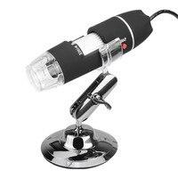 Portable NEW Electronics 2MP USB Digital LED Camera Microscope Magnifier 500X Magnification Measure