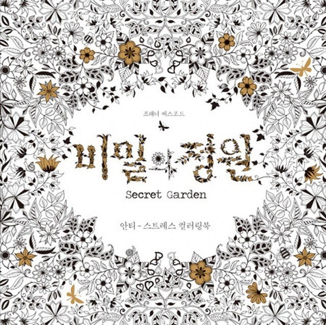 Secret Garden By Johanna Basford An Inky Treasure Hunt And Coloring Book Pbk