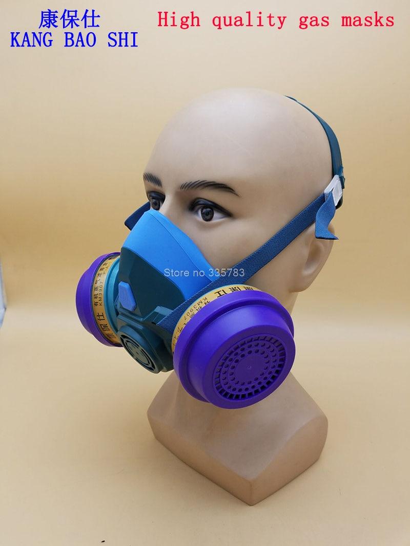 The newest respirator gas mask high quality Silica gel protective mask combination dust paint Multifunction gasmaske 3m 6300 6003 half facepiece reusable respirator organic mask acid face mask organic vapor acid gas respirator lt091