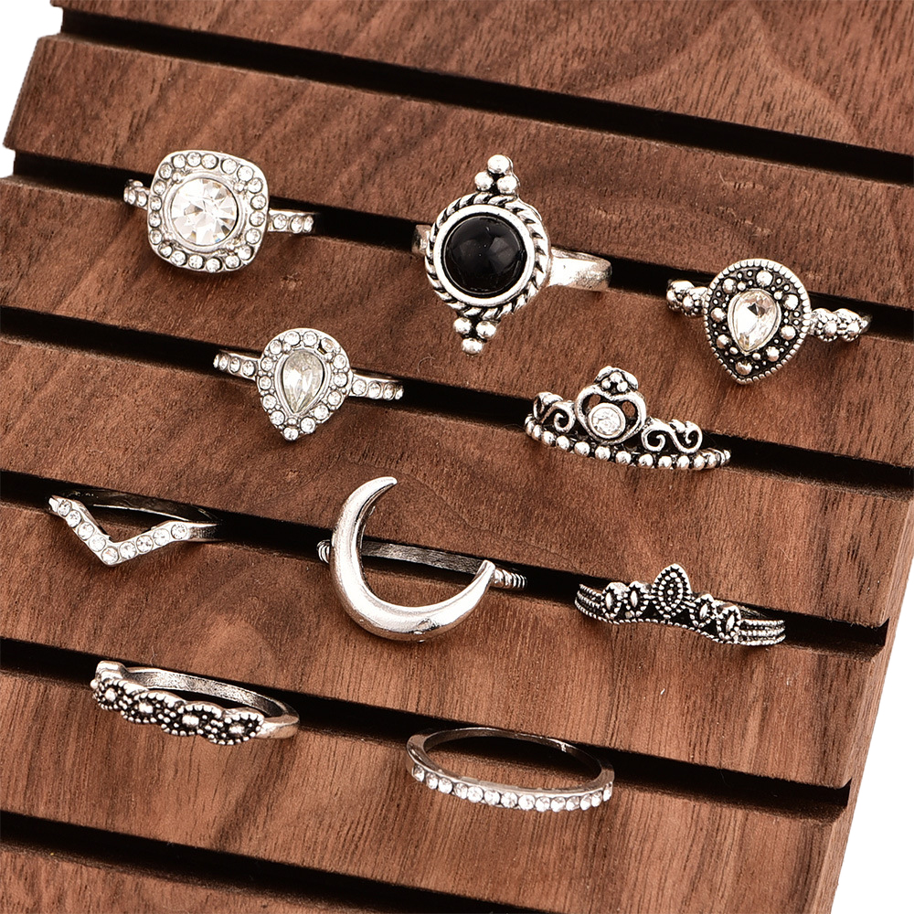 Boho Moon Rings For Women's