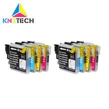 Compatible Pour Frère LC985 LC 985 LC975 LC39 LC980 Cartouches D'encre MFC-930CDN MFC-935CDN MFC-J950DN MFC-J415W cartouche Imprimante