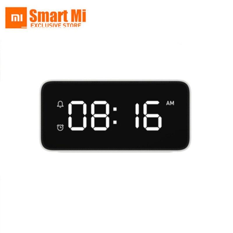 Оригинальный Xiaomi Mijia Xiaoai Smart Voice широковещательный, сигнал тревоги часы работы с wi fi и Bluetooth беспроводной Смартфон приложение
