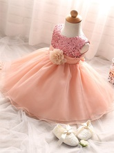 Wedding Baptism Princess Dresses for Baby Girls
