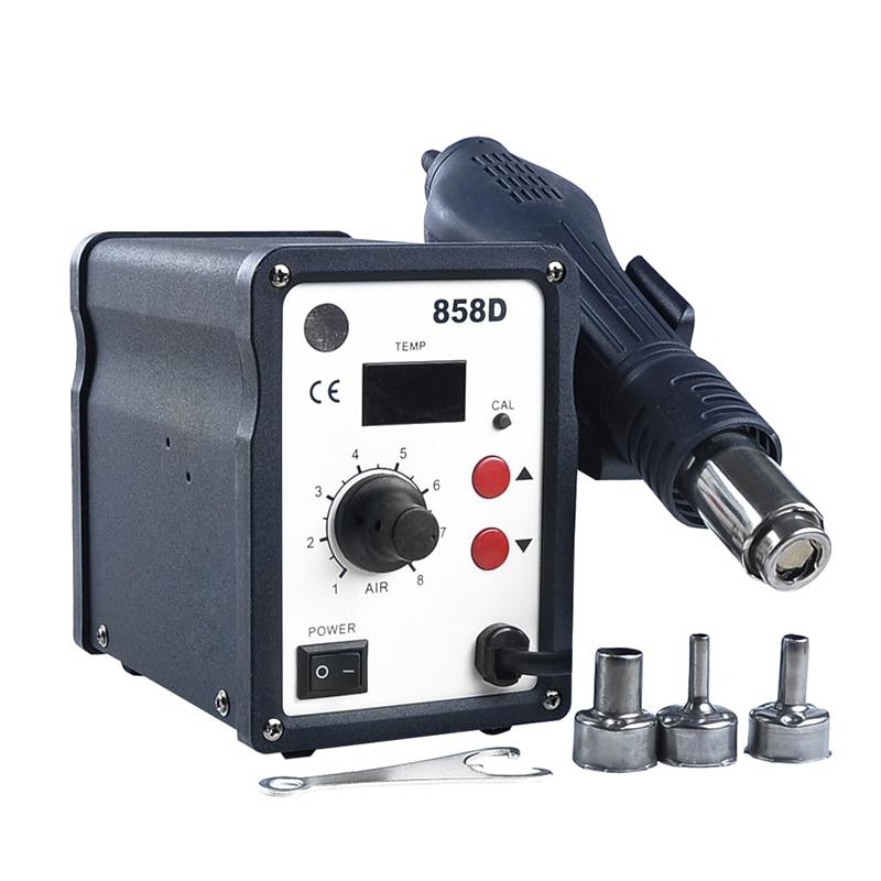858D 220V 700W Heat Gun Adjustable LED Digital Display Temperature Hot Air Gun Demolition Welding Station кaреткa toyota ks 858