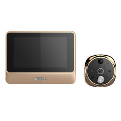Door Bell For Home Video-Eye WiFi Digital Door Viewers IPS Security Viewer Camera Night Vision Motion Sensor Intercom