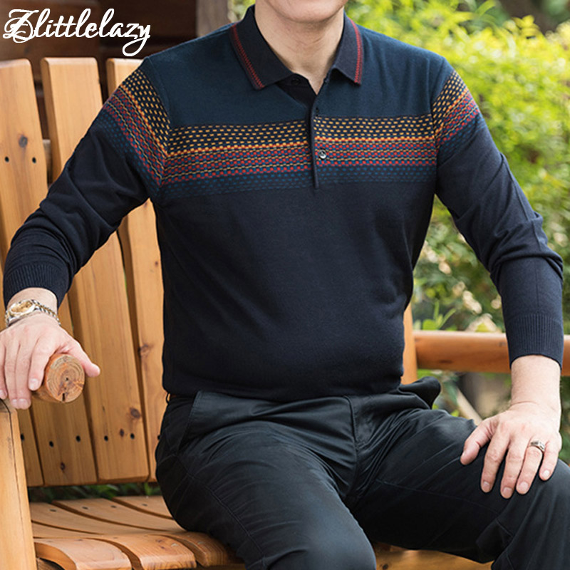2019 brand fashion slim fitness camisa masculina long sleeve polo shirt men pol striped casual mens polos shirts clothing 91371