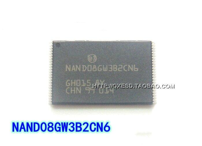 10PCS NAND08GW3B2CN6 TSOP8 New and original