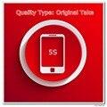 10 pçs/lote tomada Original de telefone A tela de qualidade para 5S Display LCD preto / branco