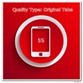 10 unids/lote Original desde el teléfono una pantalla de calidad para 5S Display LCD negro / blanco