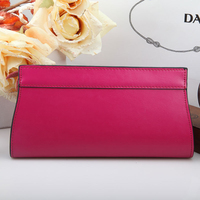 2 Color Korean Style Women Wallets Stylish Classical Women Purse Long Design Zipper Ladies Wallet Genuine Leather Card Holder