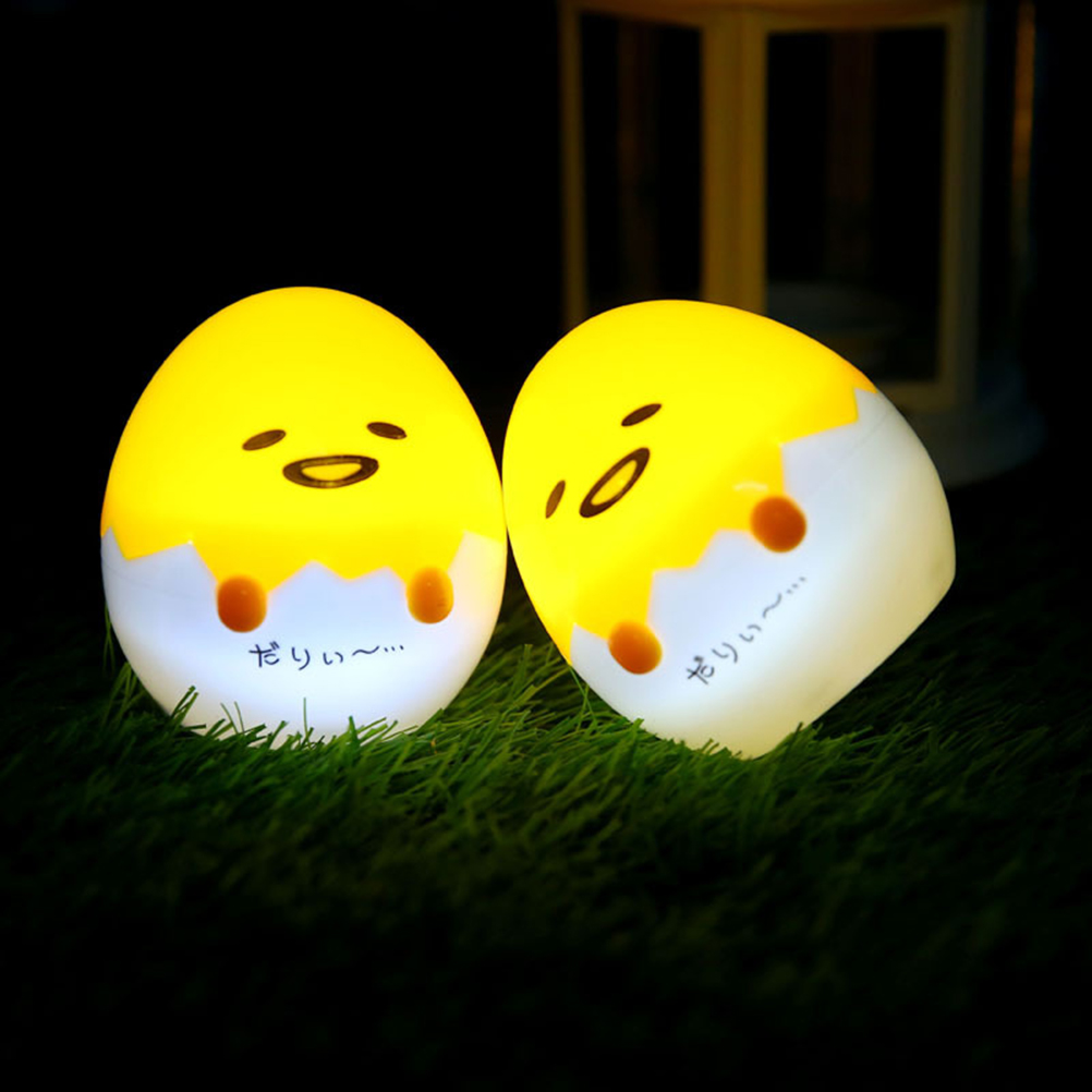 Cute Yolk Egg Led Night Light Children Baby Nightlight