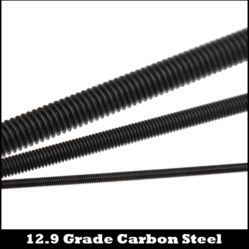 M2 M2.5 M3 M4 Fully Threaded Studs Rods Bar Self Colours 12.9 High Tensile